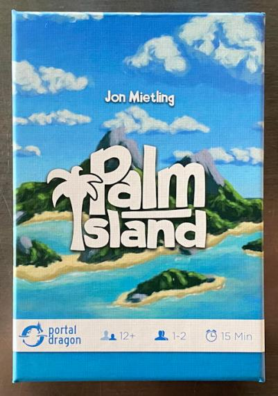 palm island card game - box review