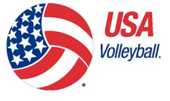 usa volleyball logo