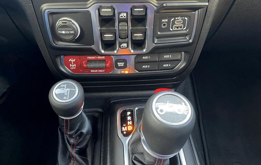 2020 jeep wrangler unlimited rubicon 4x4 - offroad controls