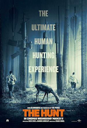 the hunt 2020 movie film one sheet poster