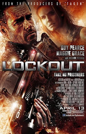 lockout 2012 movie poster one sheet