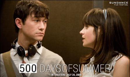 500 days of summer still