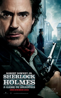 Sherlock Holmes A Game of Shadows one sheet