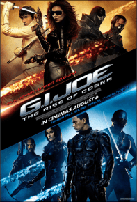 gi joe rise of cobra one sheet