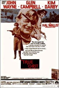 true grit 1969 one sheet