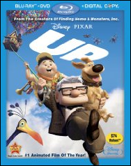 up blu ray packaging