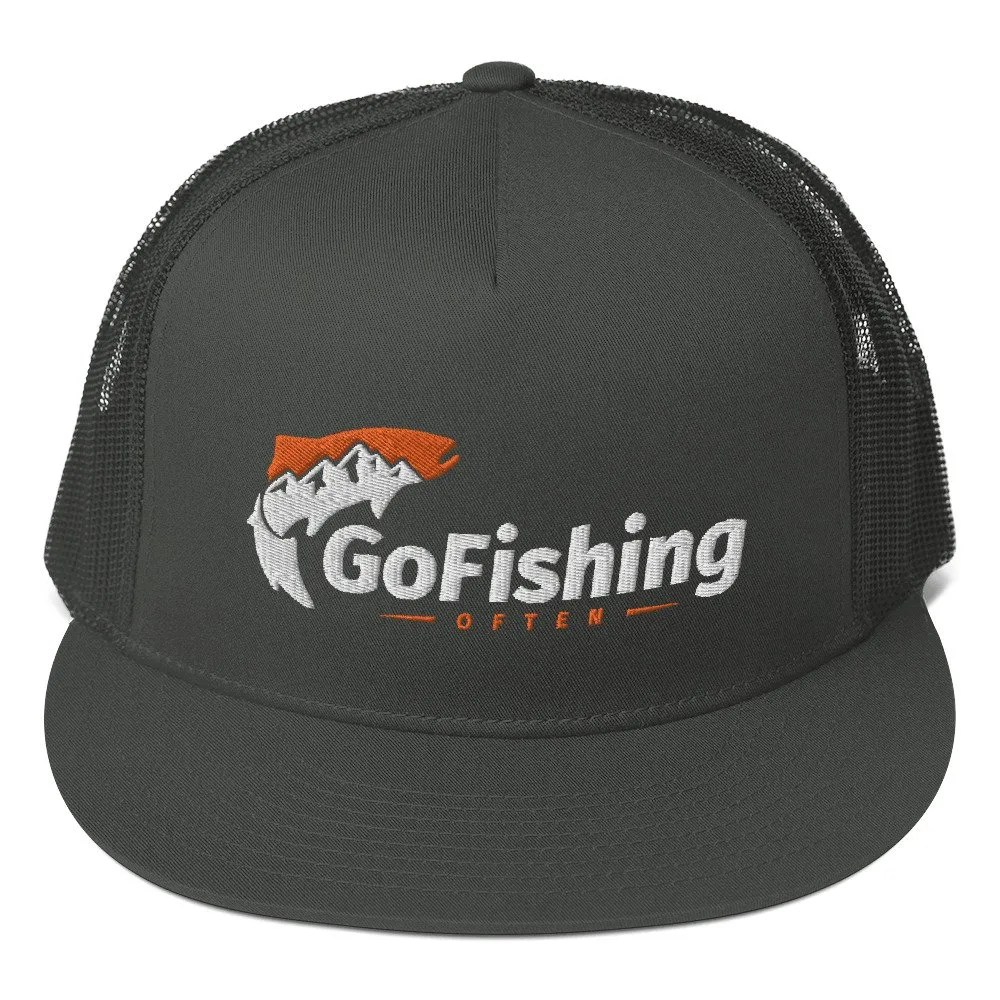 Go Fishing Often Trucker: High-Profile
