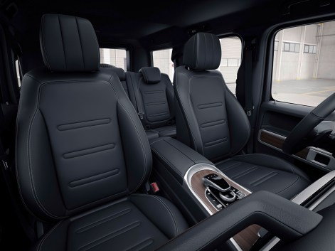 Mercedes-Benz G-Klasse 2018, Interieur Mercedes-Benz G-Class 2018, Interior