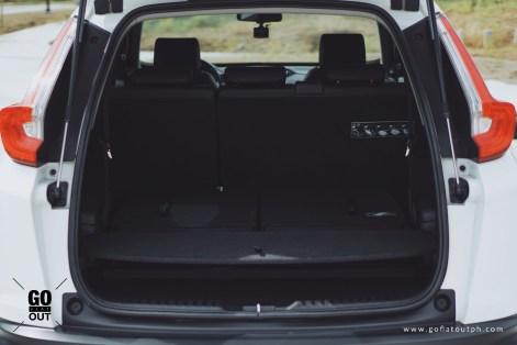 2018 Honda CR-V 1.6 S i-DTEC Trunk Space
