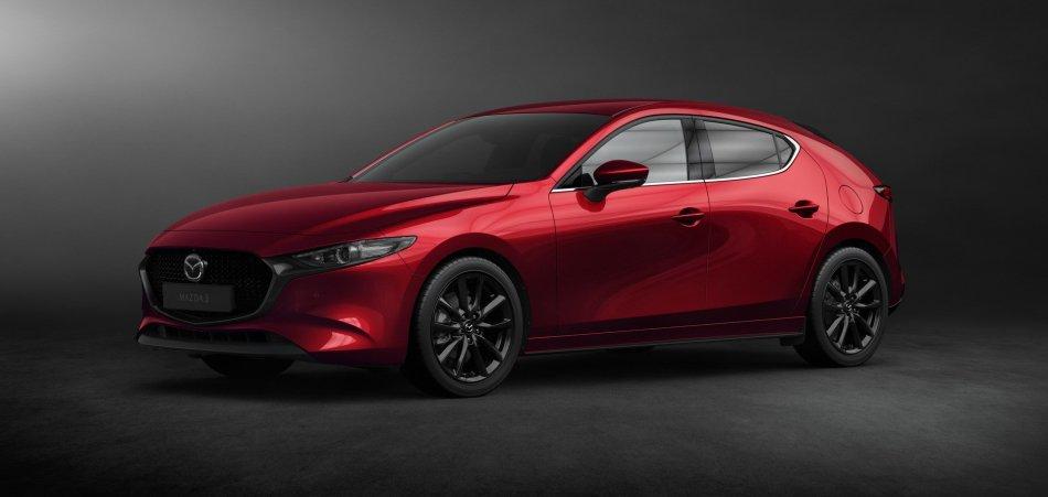 2019 Mazda 3 Hatchback Exterior