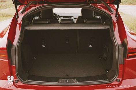 2018 Jaguar E-Pace R-Dynamic Trunk Space