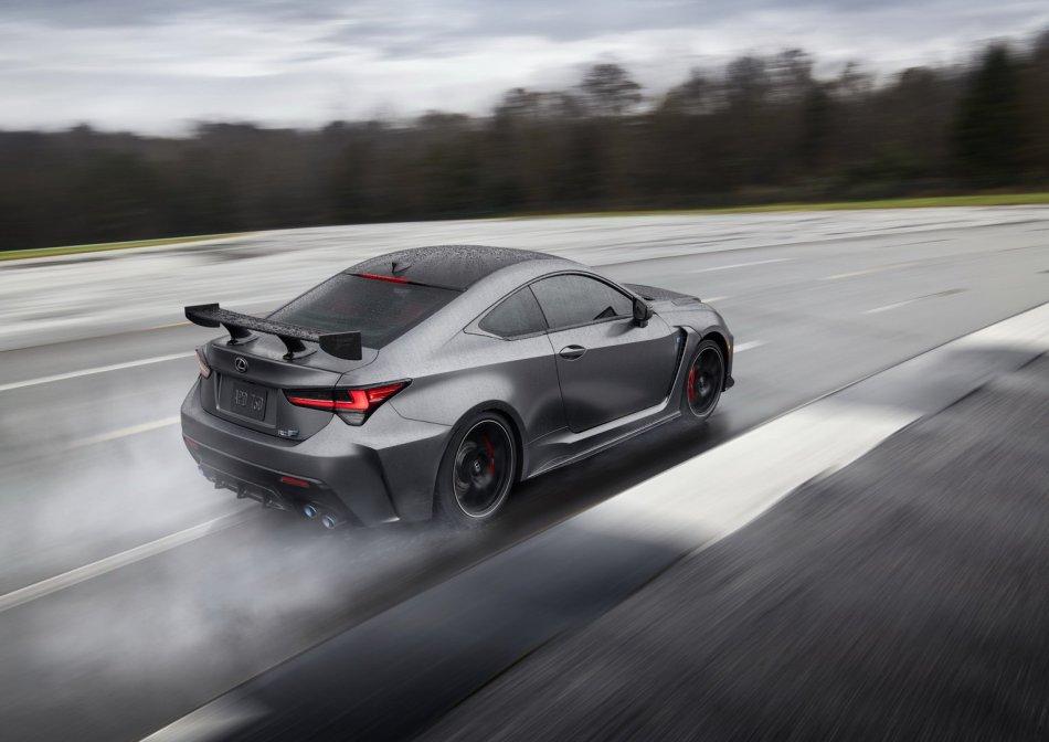 2020 Lexus RC F Track Edition Exterior