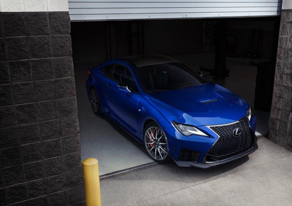 2020 Lexus RC F Exterior