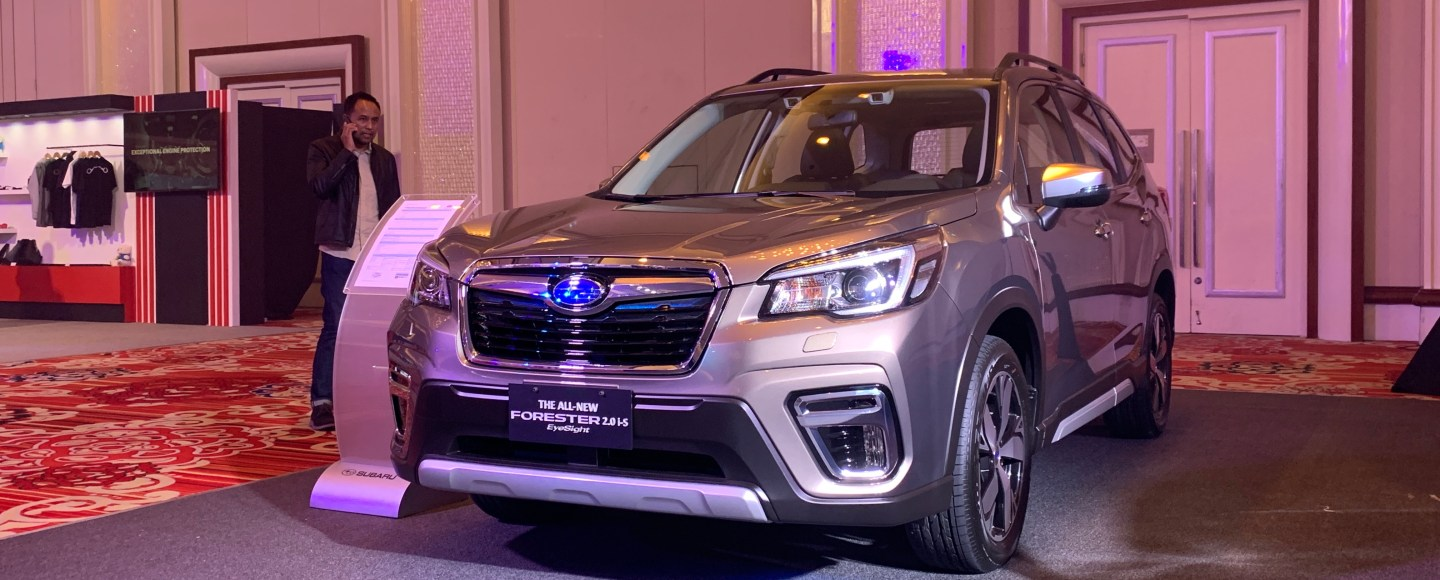 All-New 2019 Subaru Forester Debuts In The PH With A Starting Price Of P1.598M