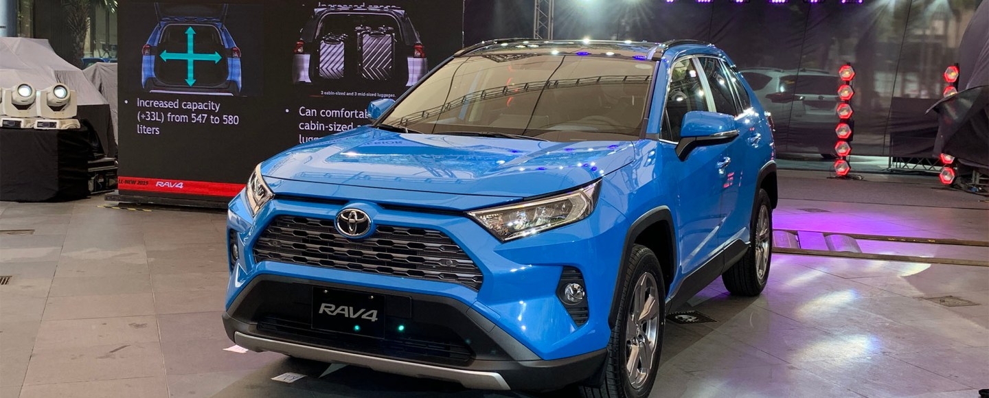 2019 Toyota RAV4 Arrives In The PH With 203 HP And P1.638M Starting Price