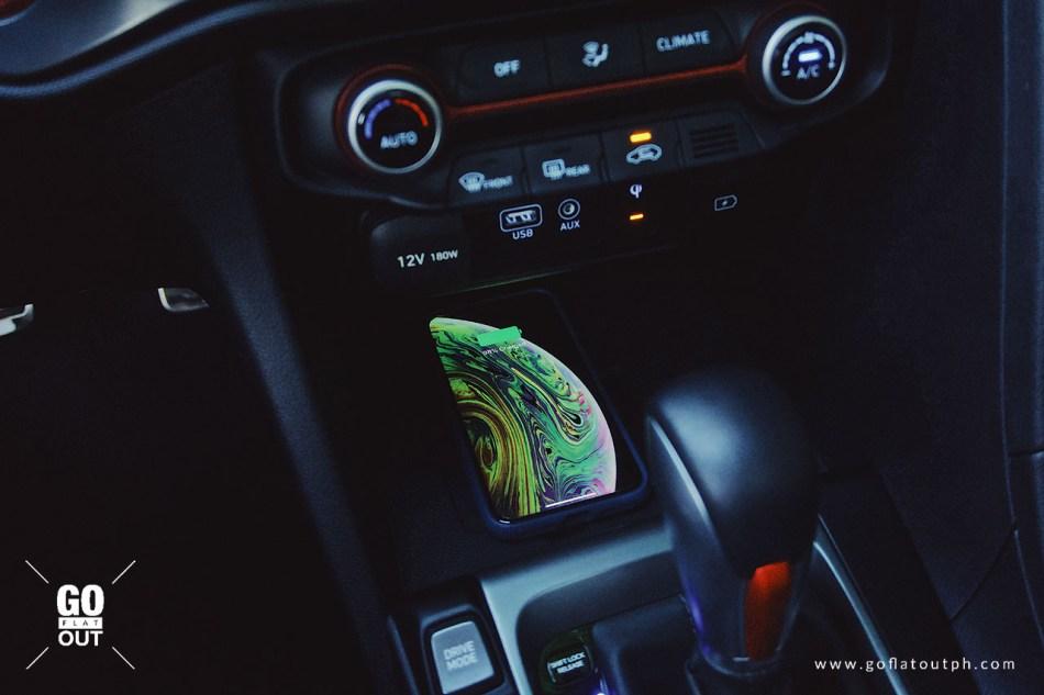 2019 Hyundai Veloster Turbo Wireless Charger
