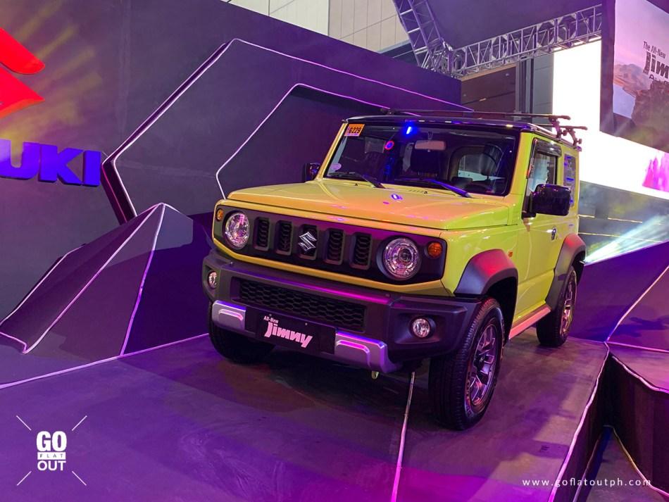 2019 Suzuki Jimny GLX Exterior