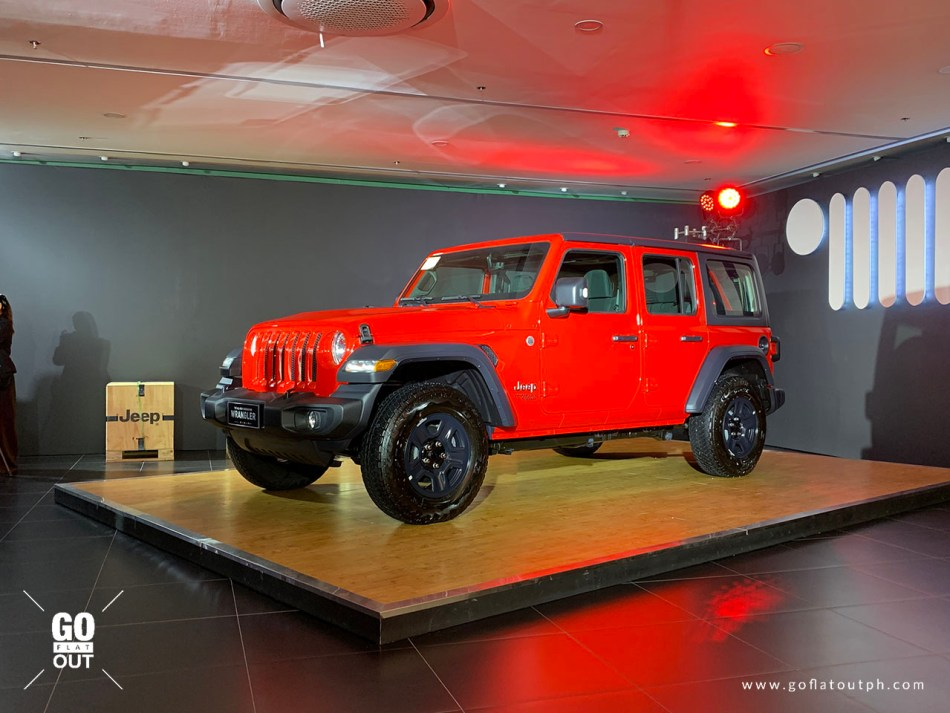 2019 Jeep Wrangler Unlimited Sport Exterior