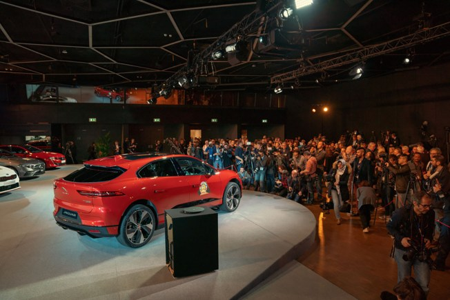 Jaguar I-Pace 2019 European Car Of The Year