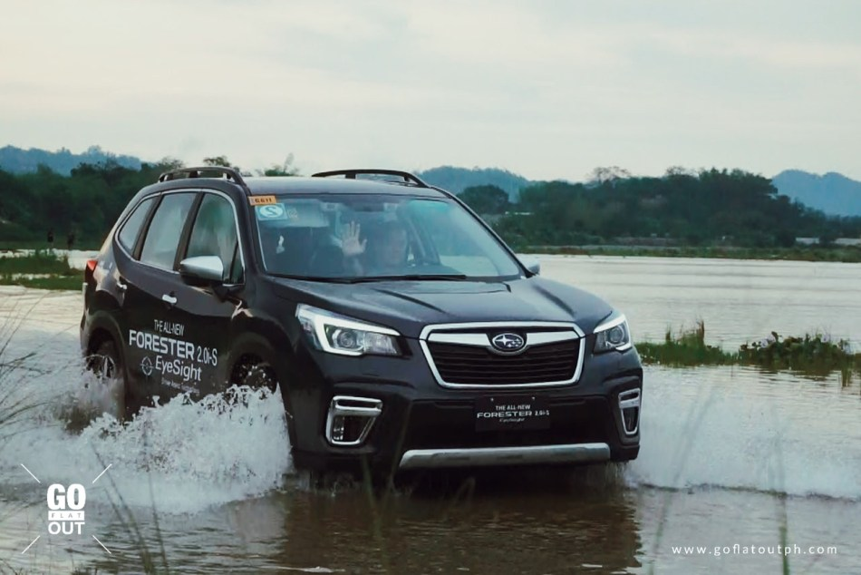 2019 Subaru Forester Off-Roading