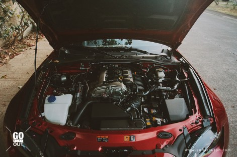 2019 Mazda MX-5 RF Club Edition Engine
