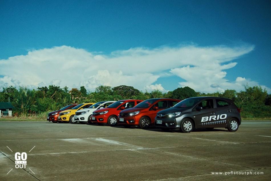2019 Honda Brio Line-Up