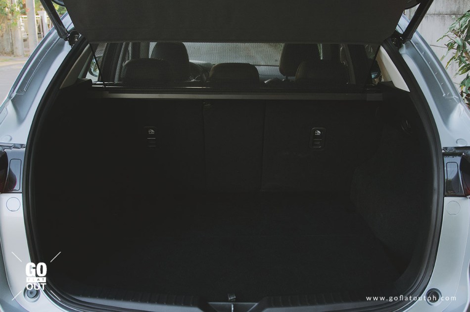 2019 Mazda CX-5 2.2 AWD Sport Diesel Trunk Space