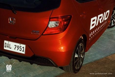 2019 Honda Brio 1.2 RS CVT Exterior
