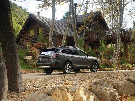 2020 Subaru Outback Touring XT Exterior