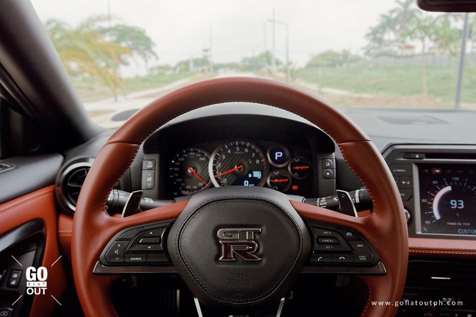 2019 Nissan GT-R Interior