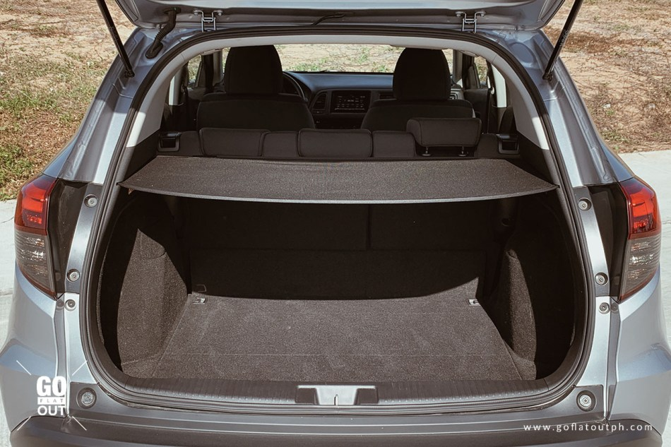 2019 Honda HR-V 1.8 E Trunk Space