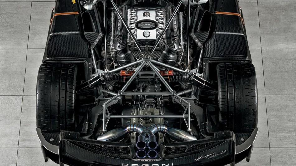 Pagani Huayra Roadster BC Engine