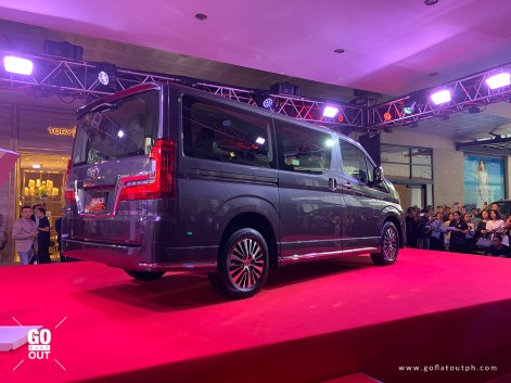 2020 Toyota Hiace Super Grandia Leather Exterior