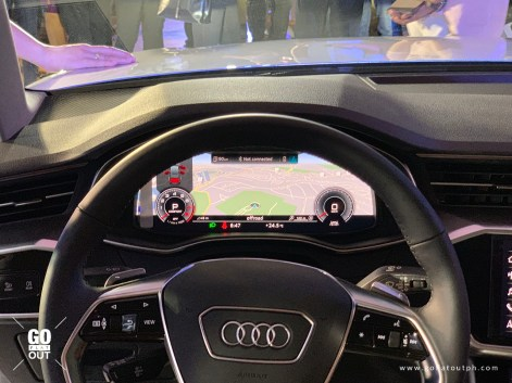 2020 Audi A6 Virtual Cockpit