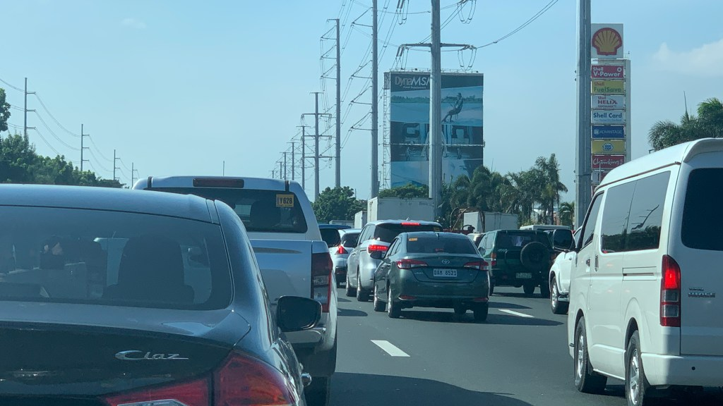 SLEX Northbound Lane Closure Creates Massive Congestion
