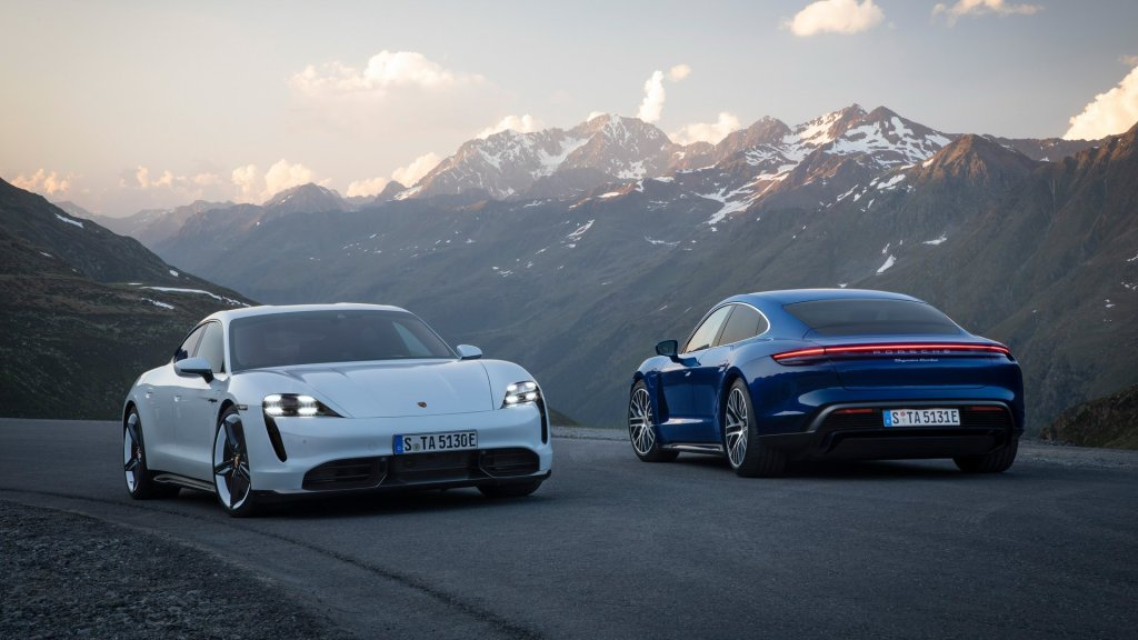 Porsche Taycan Has Up To 750 HP And Is The Fastest Four-Door EV Around The Nurburgring