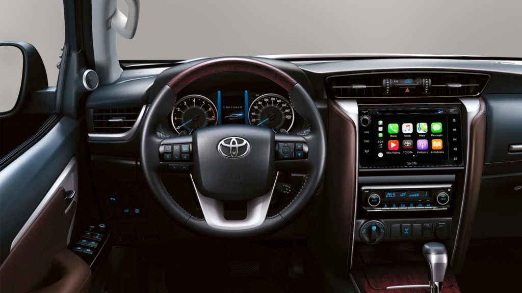 Toyota Fortuner Finally Gets Apple CarPlay And Android Auto Support With No Price Increase
