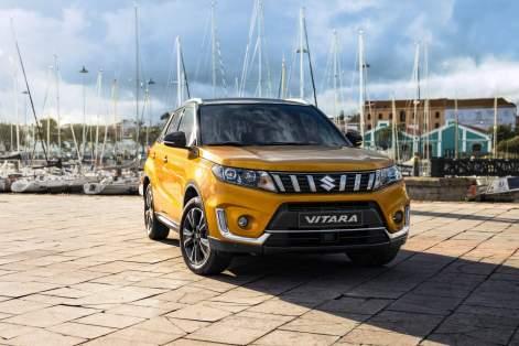 2020 Suzuki Vitara GLX In Prime Solar Yellow Pearl