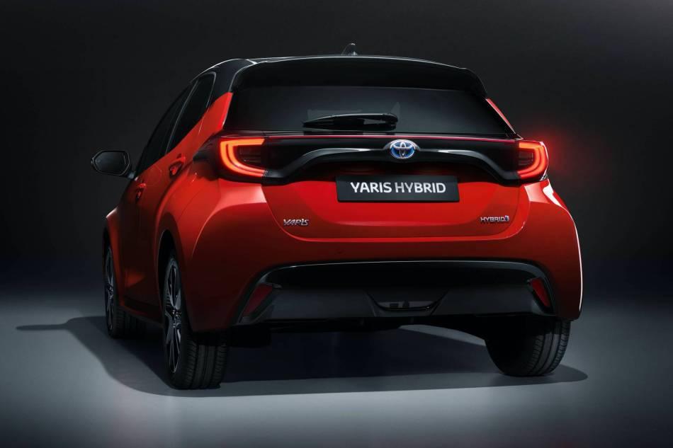 2020 Toyota Yaris Hybrid Exterior