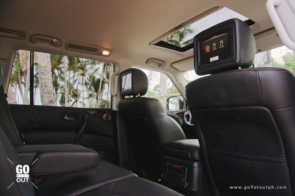 2019 Nissan Patrol Royale Rear Entertainment System