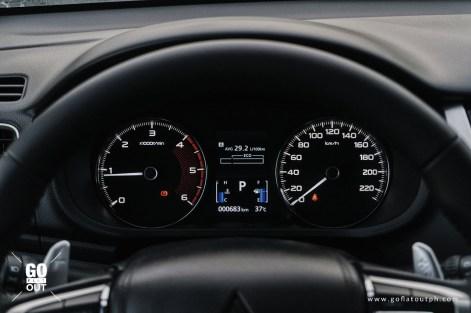 2020 Mitsubishi Montero Sport GLS Interior