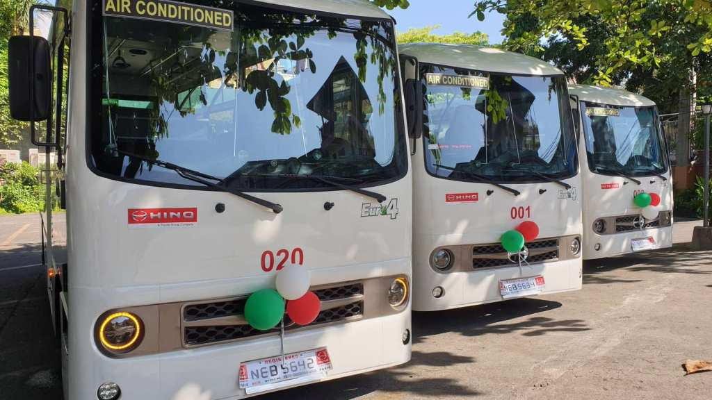 Novaliches-Malinta Cooperative Receives 23 Modern PUVs From Hino