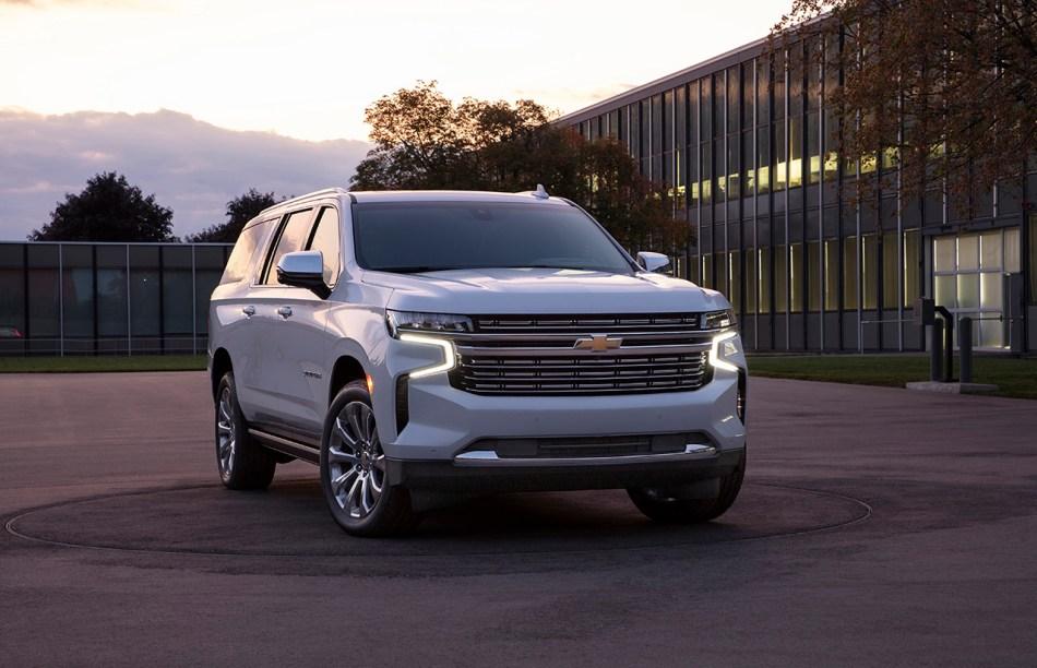 2021 Chevrolet Suburban High Country Exterior