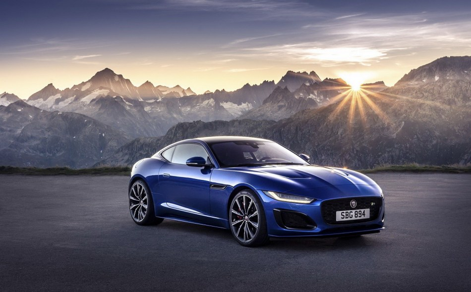2021 Jaguar F-Type Gets A Sleeker Face And More Tech