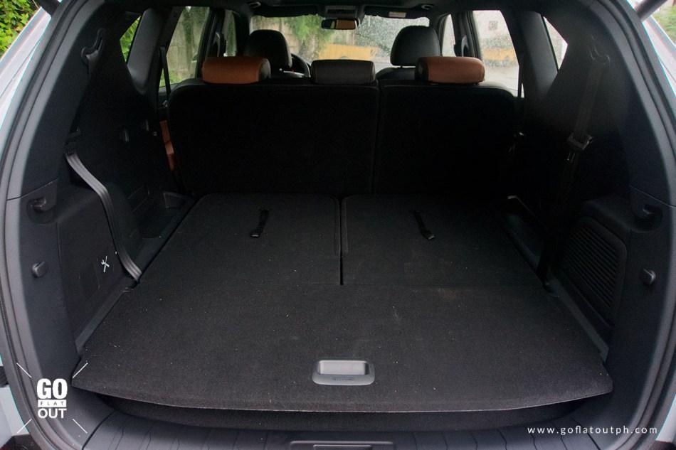 2020 SsangYong Rexton 4x4 Trunk Space