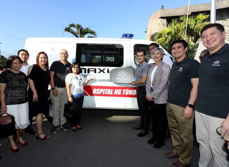 Maxus V80 Ambulance Ospital ng Tondo