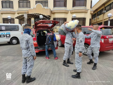 Ayala's AC Motors Donates Ten Kia K2500 Vehicles To Taal Eruption Victims