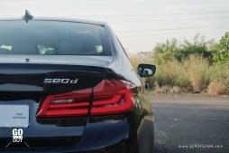 2020 BMW 520d M Sport LED Taillights