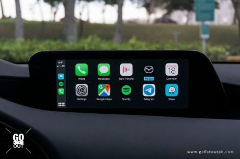 2020 Mazda 3 2.0 Premium Sedan Infotainment