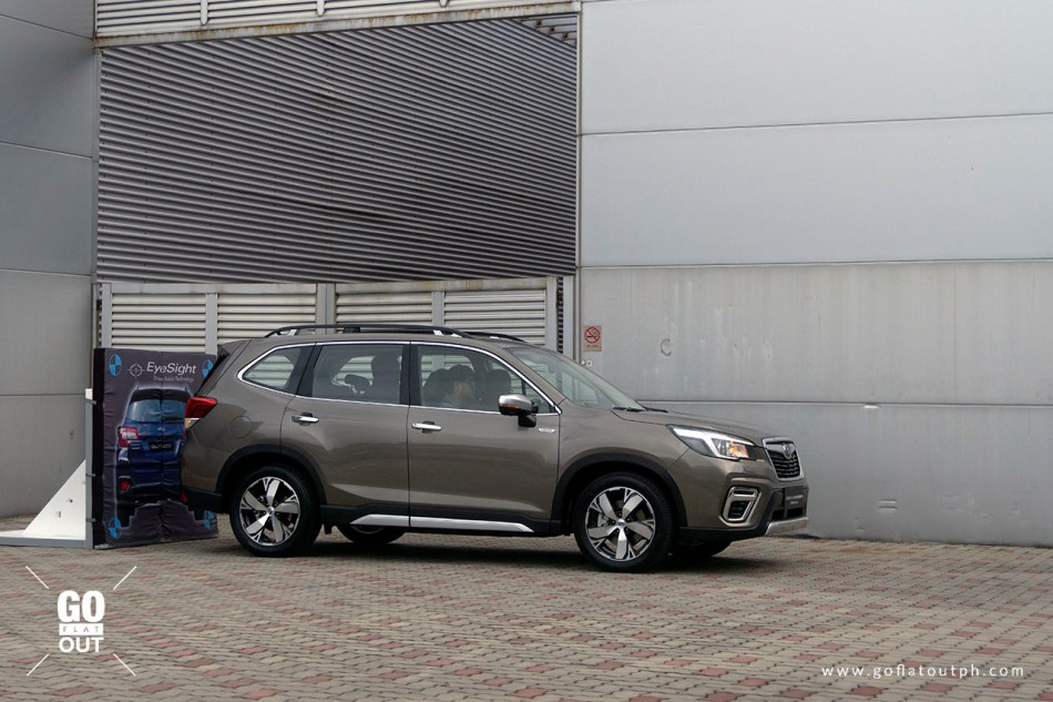 2020 Subaru Forester Rear Automatic Braking